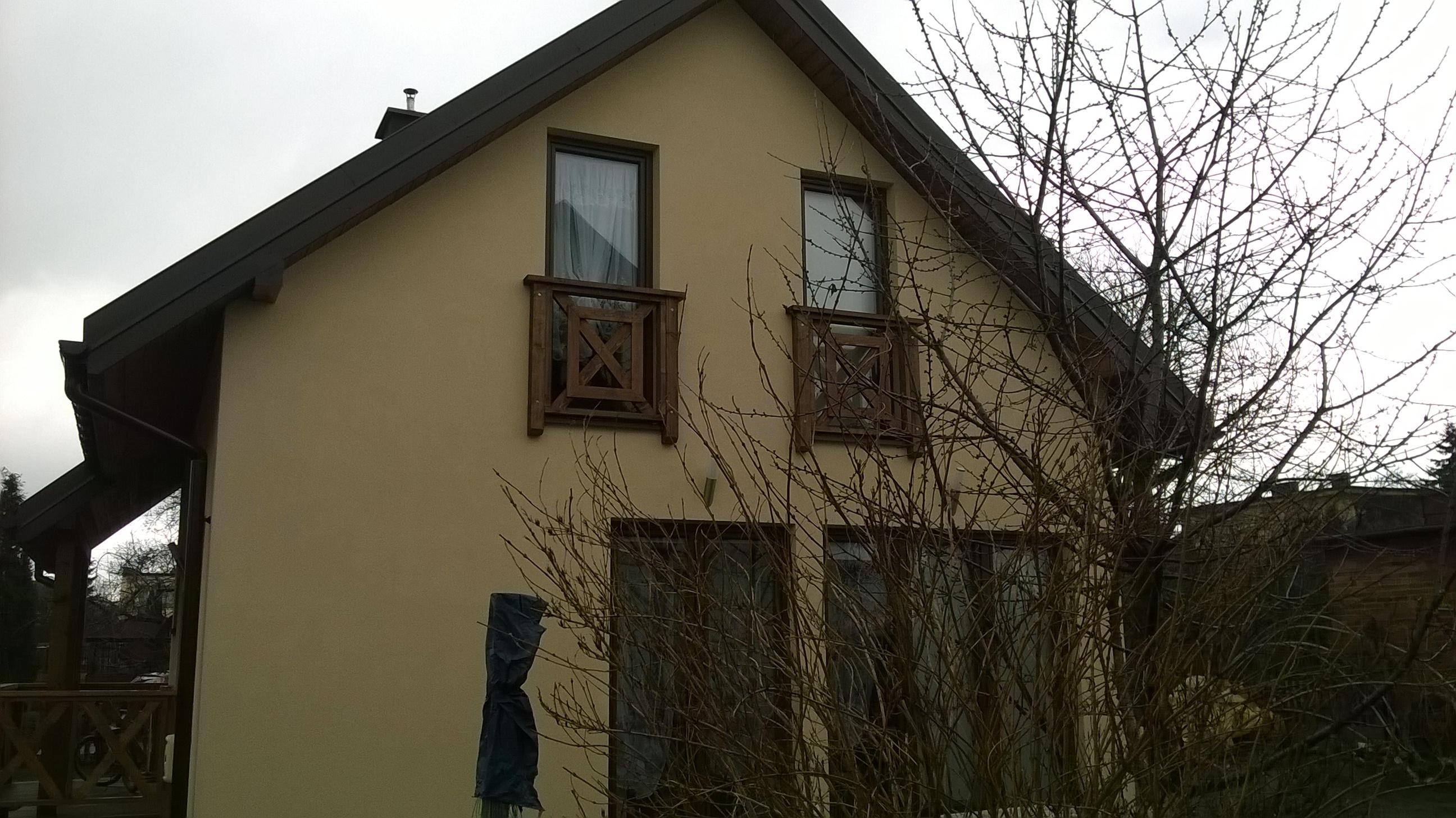 Bieruń - dom jednorodzinny, stan surowy, otwarty