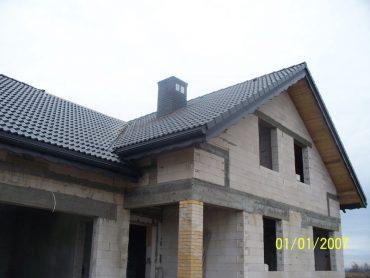 Letniki - budowa dachu