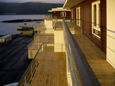 Slinningen Alesund (Norwegia) - blok w technologii drewnianej modułowej