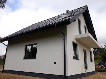 Rogów - mały dom w technologii szkieletowej z poddaszem użytkowym