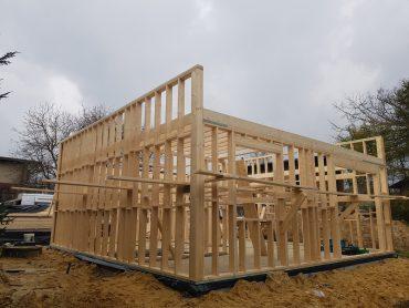 Budowa w Orzeszu