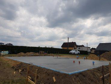 Budowa w Łaziskach