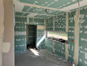 Budowa w Łaziskach Górnych