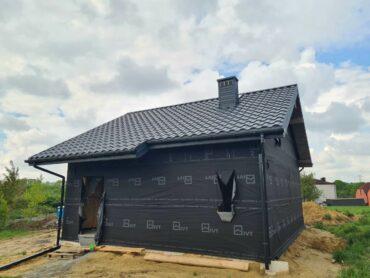 Dom szkieletowy jednorodzinny - Pstrążna 52,74m2