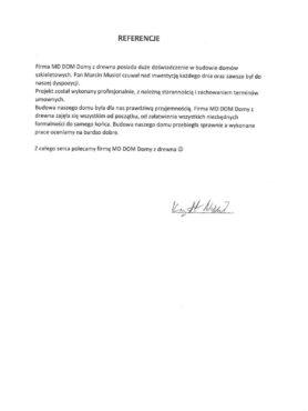 MD DOM OPINIE REFERENCJE 25.06.2021